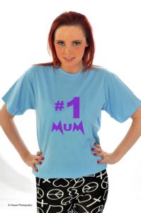 Number 1 Mum- Purple
